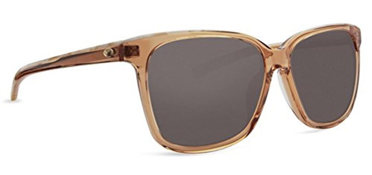 2db0e2f3fa Costa Del Mar 580g MAY Shiny Coral Crystal Shell Sunglasses