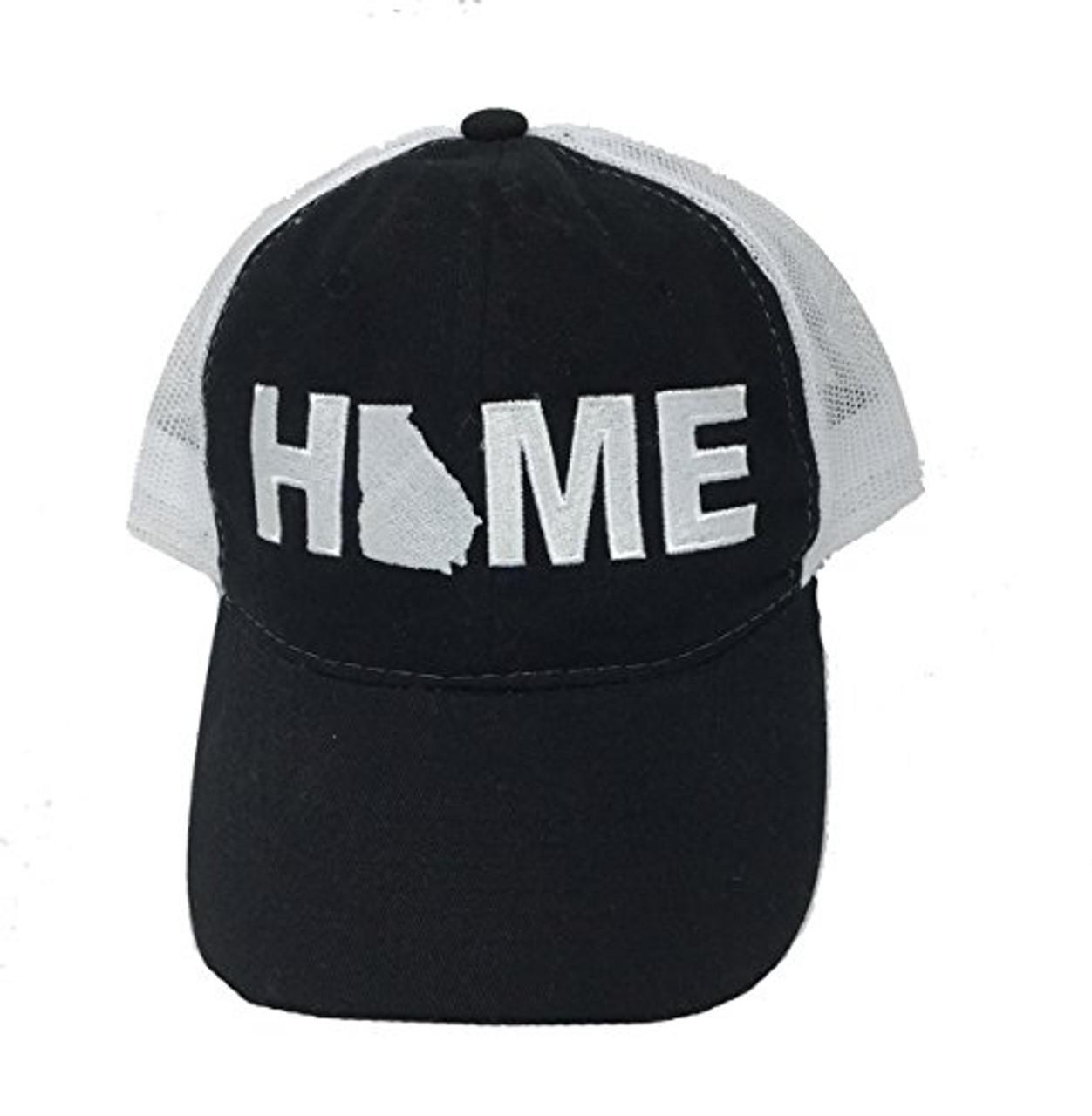 8f008e25489 Heritage Pride Georgia Home Mesh Trucker Hat - Trenz Shirt Company