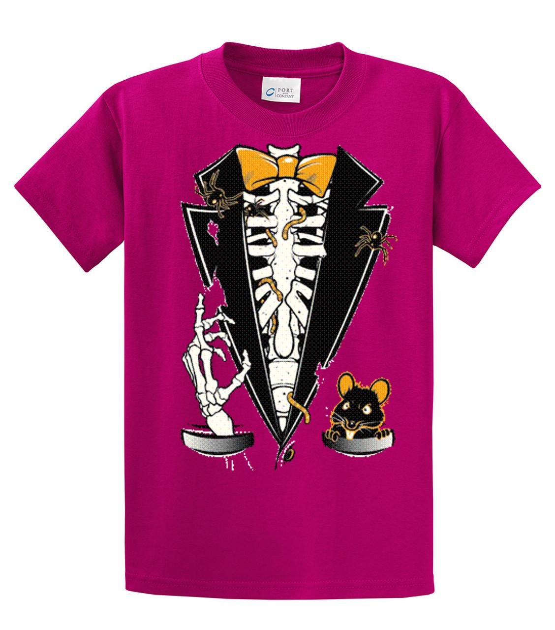 7ef853cbcc Tuxedo T-Shirt Halloween Skeleton Tuxedo - Trenz Shirt Company