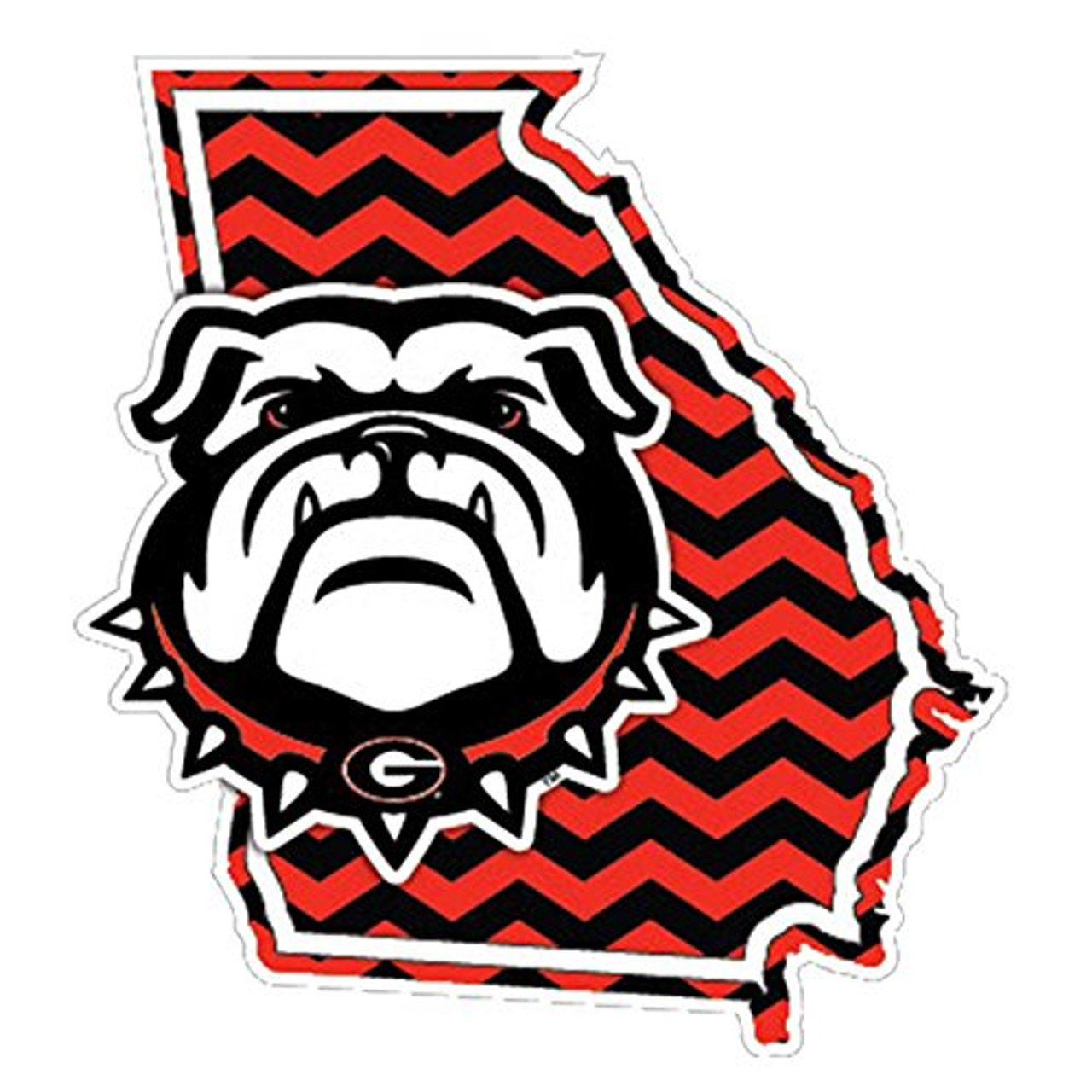 Georgia Bulldogs NEW Bulldog Decal Craftique