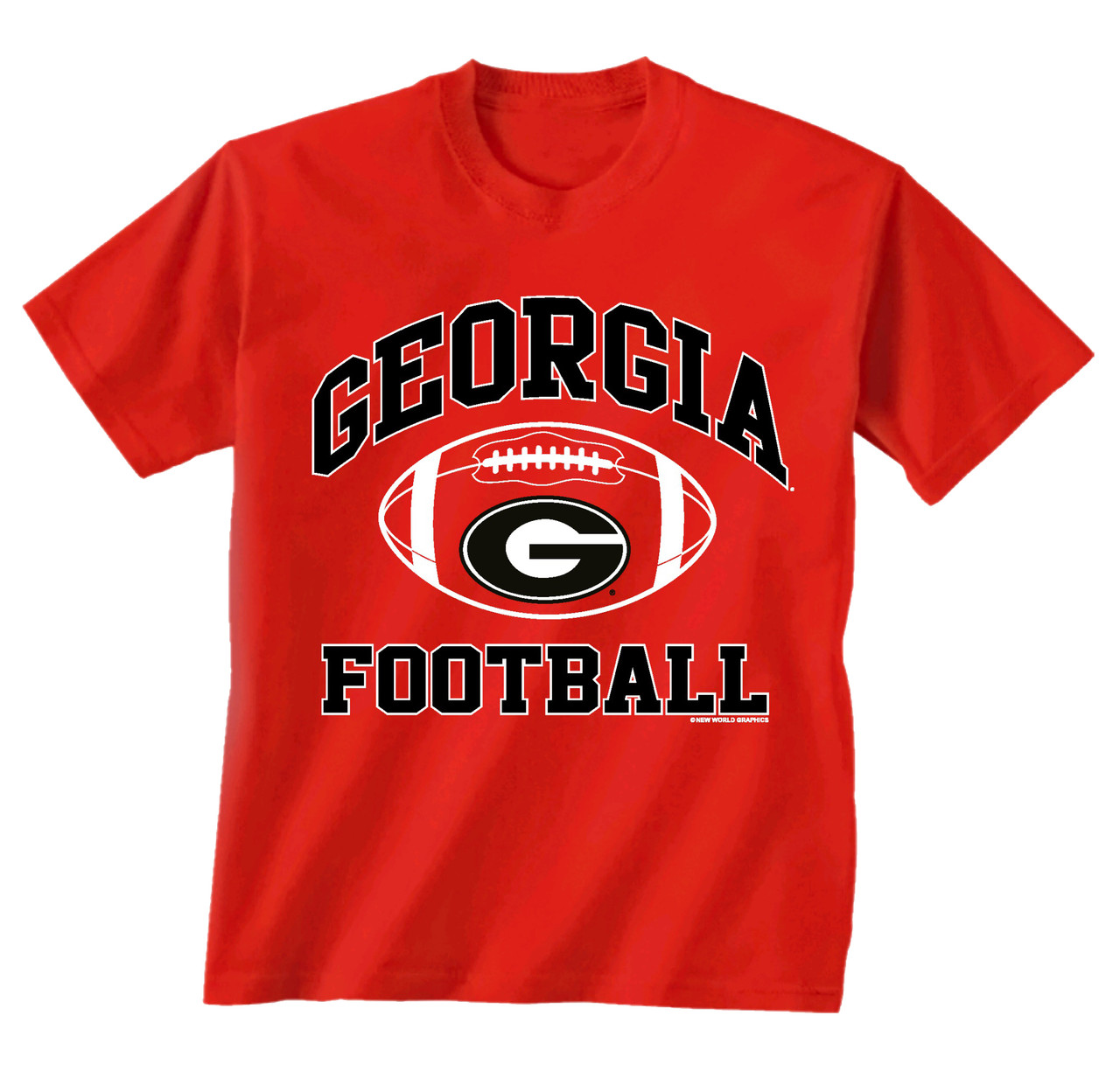 quality design 8cf8f 55f70 New World Graphics Georgia Bulldogs 2017 Georgia Football T-shirt