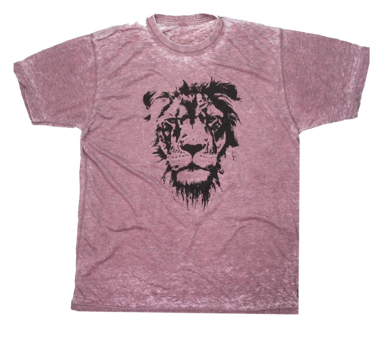 1dc8fa9eba Crazy Cool Threads Lion of Judah Acid Wash T-shirt - Trenz Shirt Company