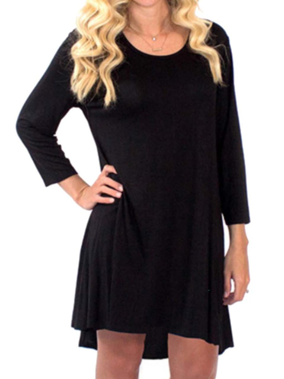 0fe230eec4d Simply Southern Womens Flowy Long Sleeve Tunic Dress - Trenz Shirt Company