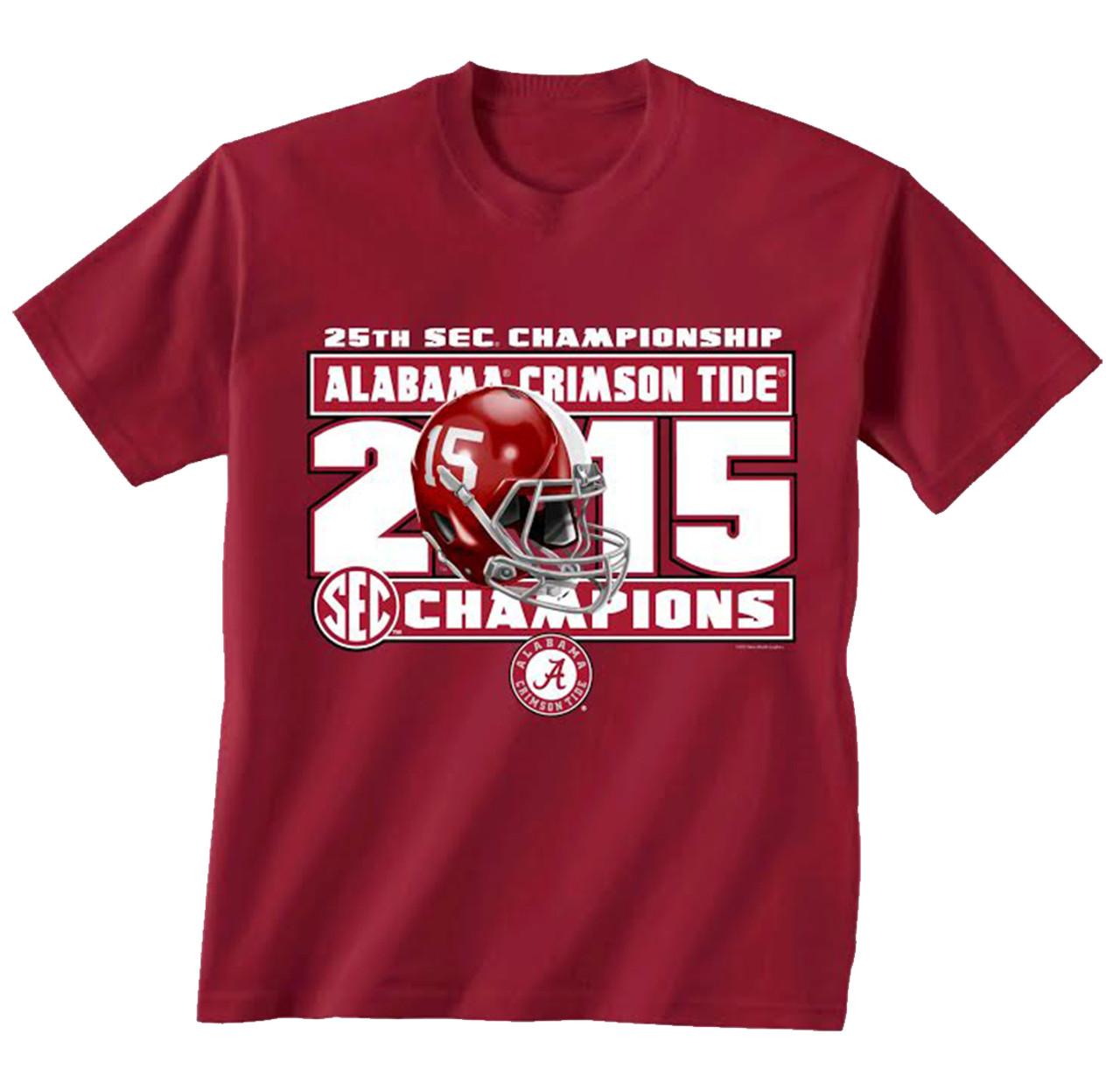 "Alabama Crimson Tide /""Roll Tide/"" football NCAA T shirt made by Champion Grey"
