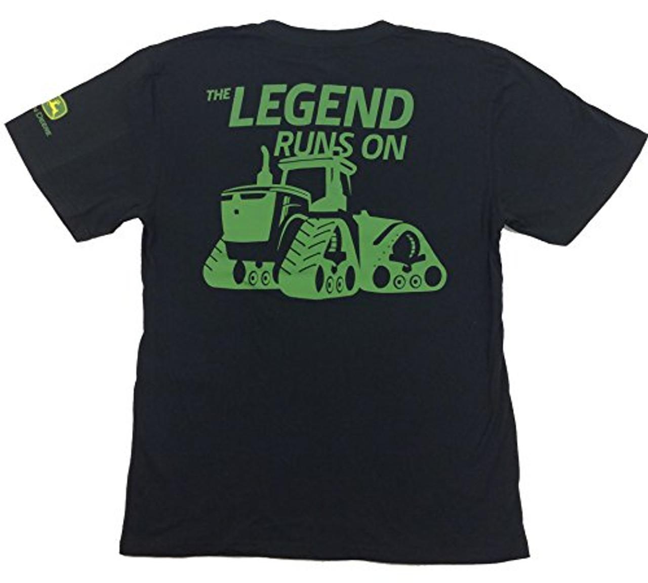 John Deere Limited Edition 100th Anniversary Tractor Legend T-shirt - Trenz  Shirt Company 400b047b61fc