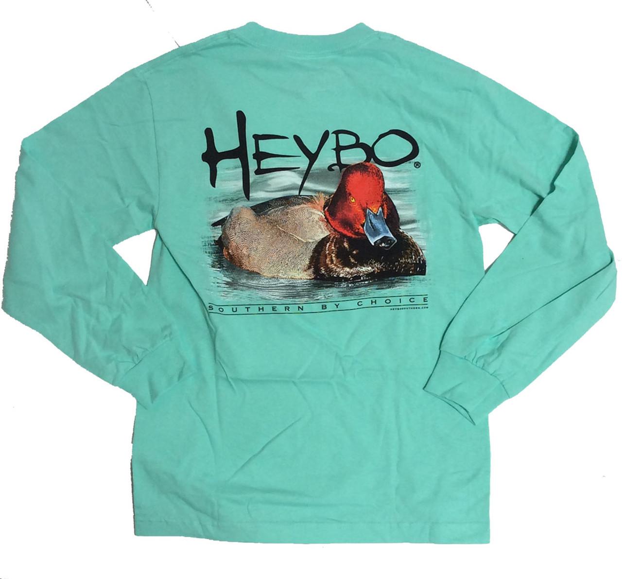 79e18cce Heybo Men's Redhead Long Sleeve T-shirt - Trenz Shirt Company