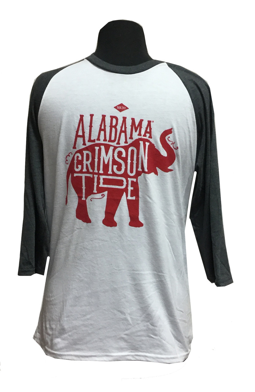 finest selection b2bd1 a6c12 Alabama Vintage Mascot Ragland Shirt by Weezabi