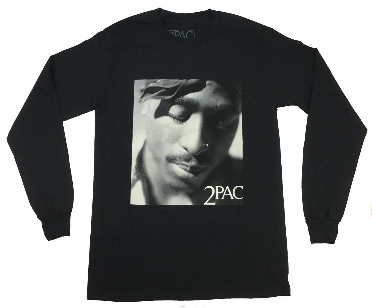 3b01ec9f Bravado Tupac Expressions Long Sleeve Graphic T-shirt - Trenz Shirt Company