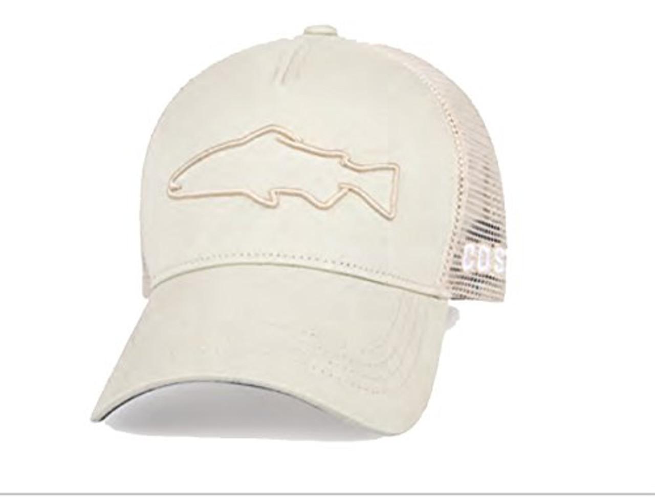 b6dc65822c1c1 Costa Del Mar Stealth Trout Trucker Hat - Trenz Shirt Company