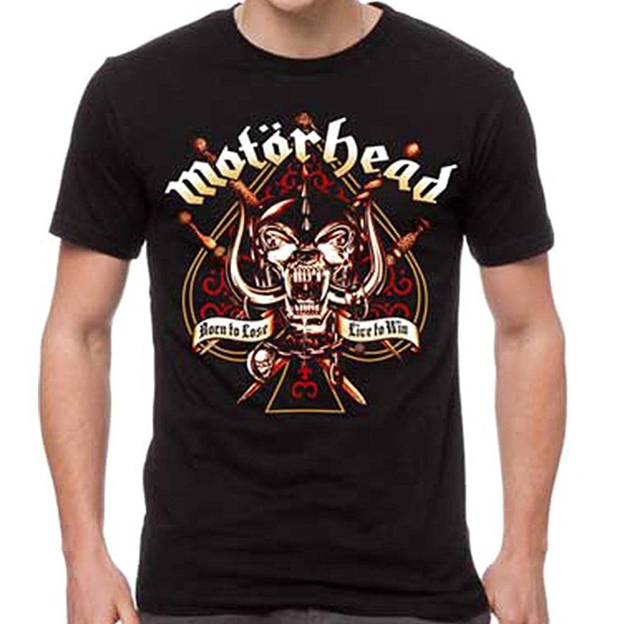 Motorhead Unisex Sword Spade Clean T-Shirt