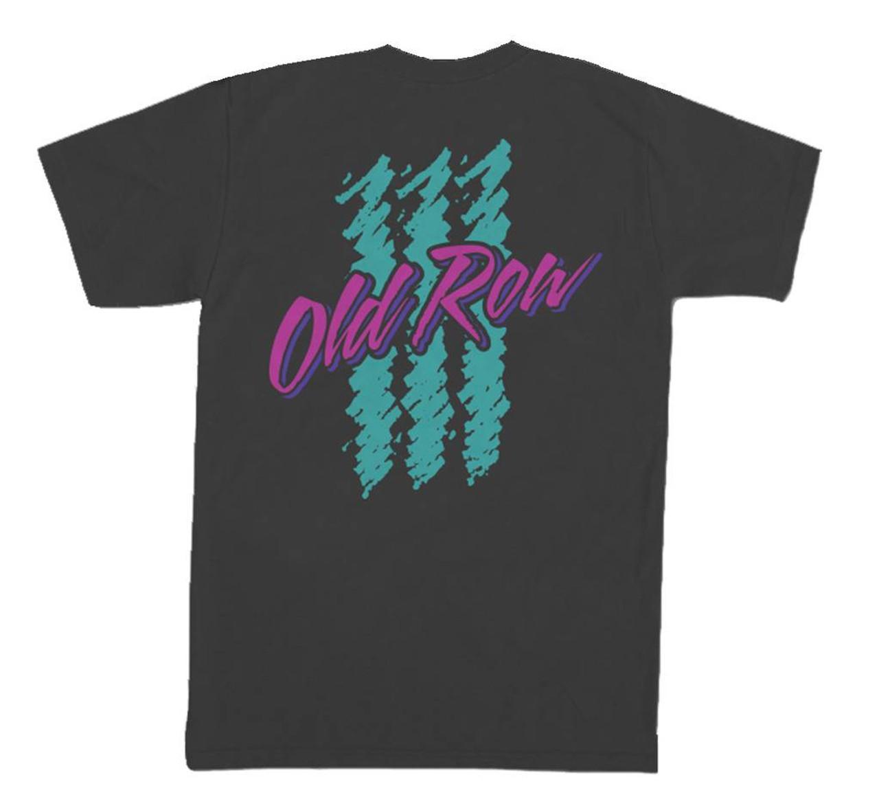 Old Row 90s Lager Retro Logo Short Sleeve Comfort Color Pocket T-shirt