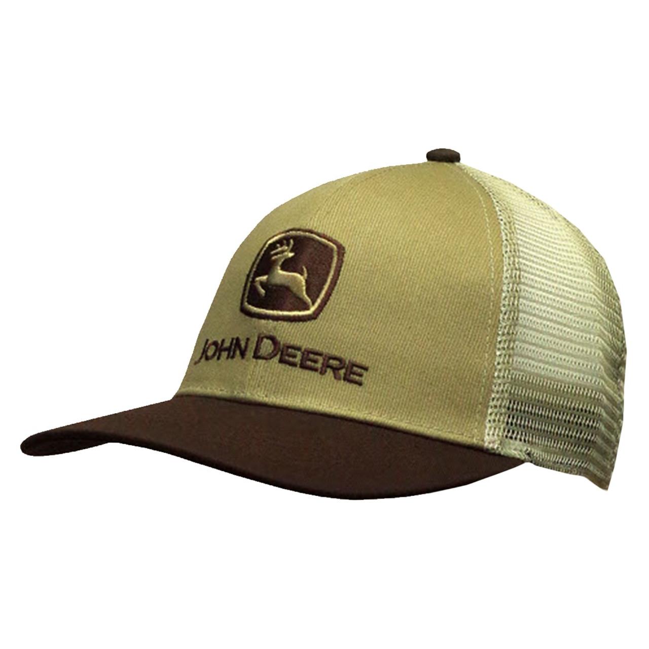 9fcefce6035 John Deere Old School Mesh Trucker Style Hat - Trenz Shirt Company