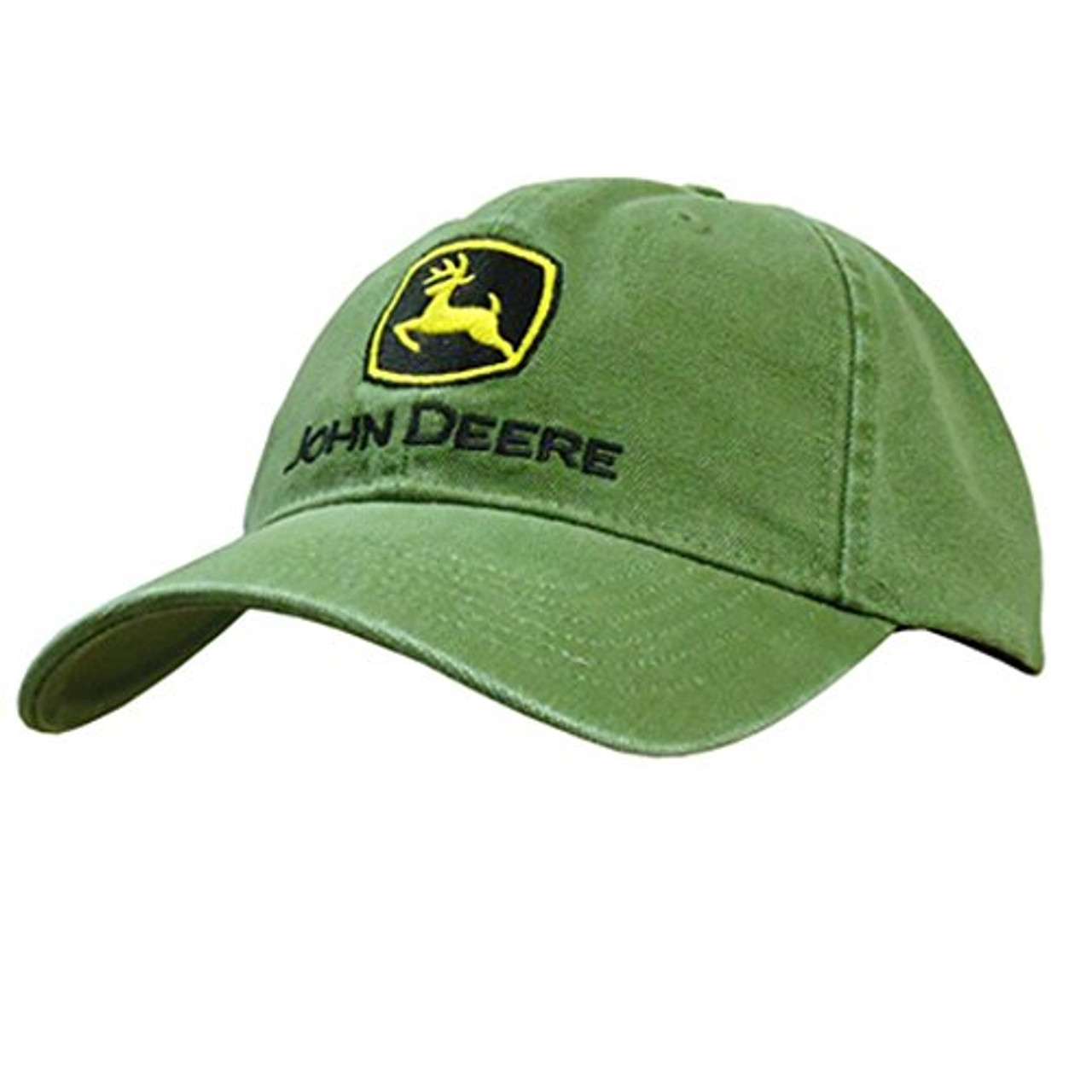 4e006de1b05 John Deere Men s Low Profile Embroidered Canvas Hat - Trenz Shirt Company