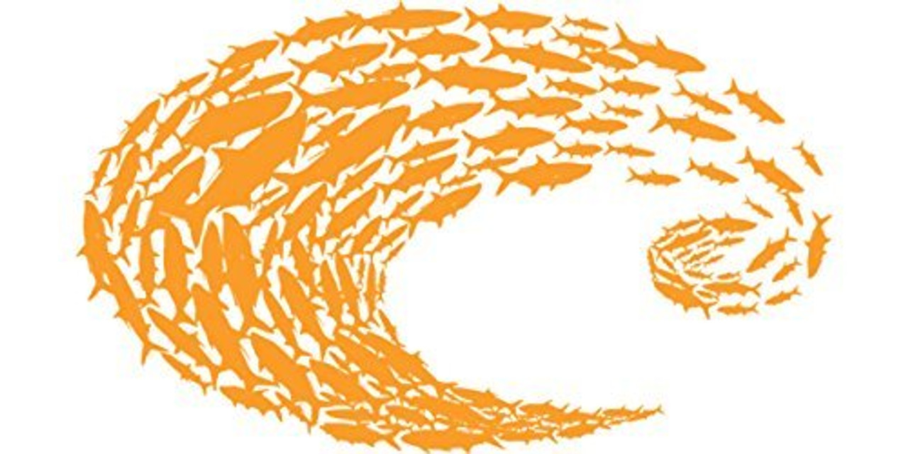Costa Del Mar Costa Logo Decal-Large Redfish New In Package Free Shipping