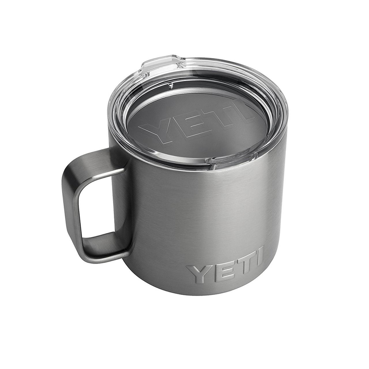 ba353008cb2 YETI Rambler 14 oz Stainless Steel Vacuum Insulated Tumbler Mug With Lid