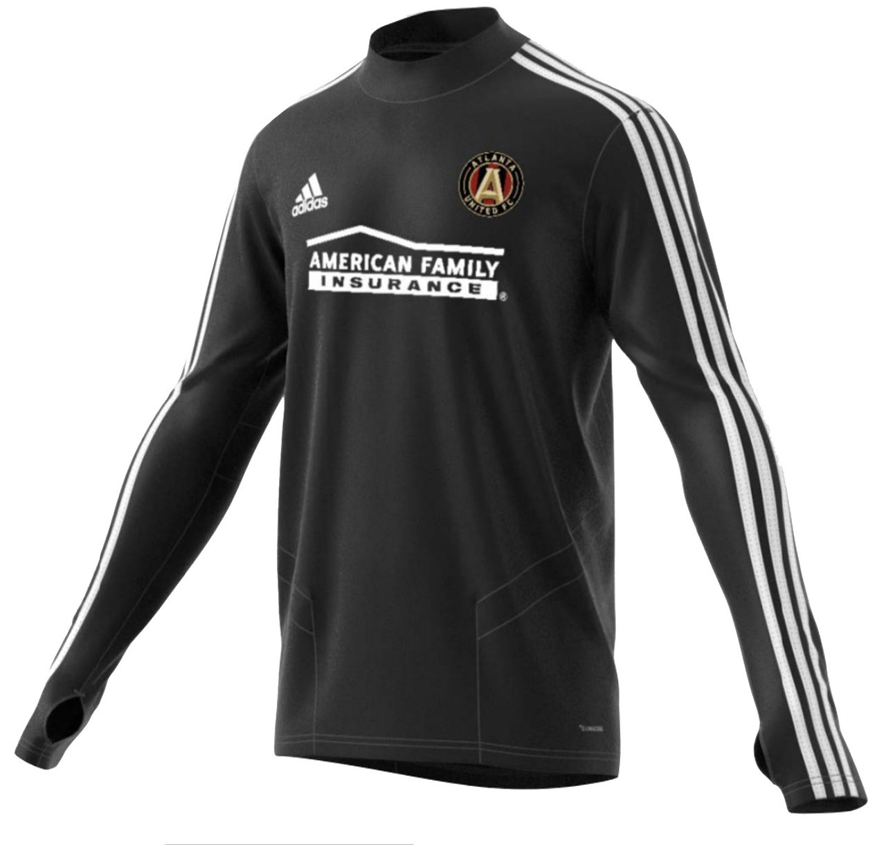 new styles 3275d a2f85 adidas Atlanta United FC Long Sleeve Training Jersey