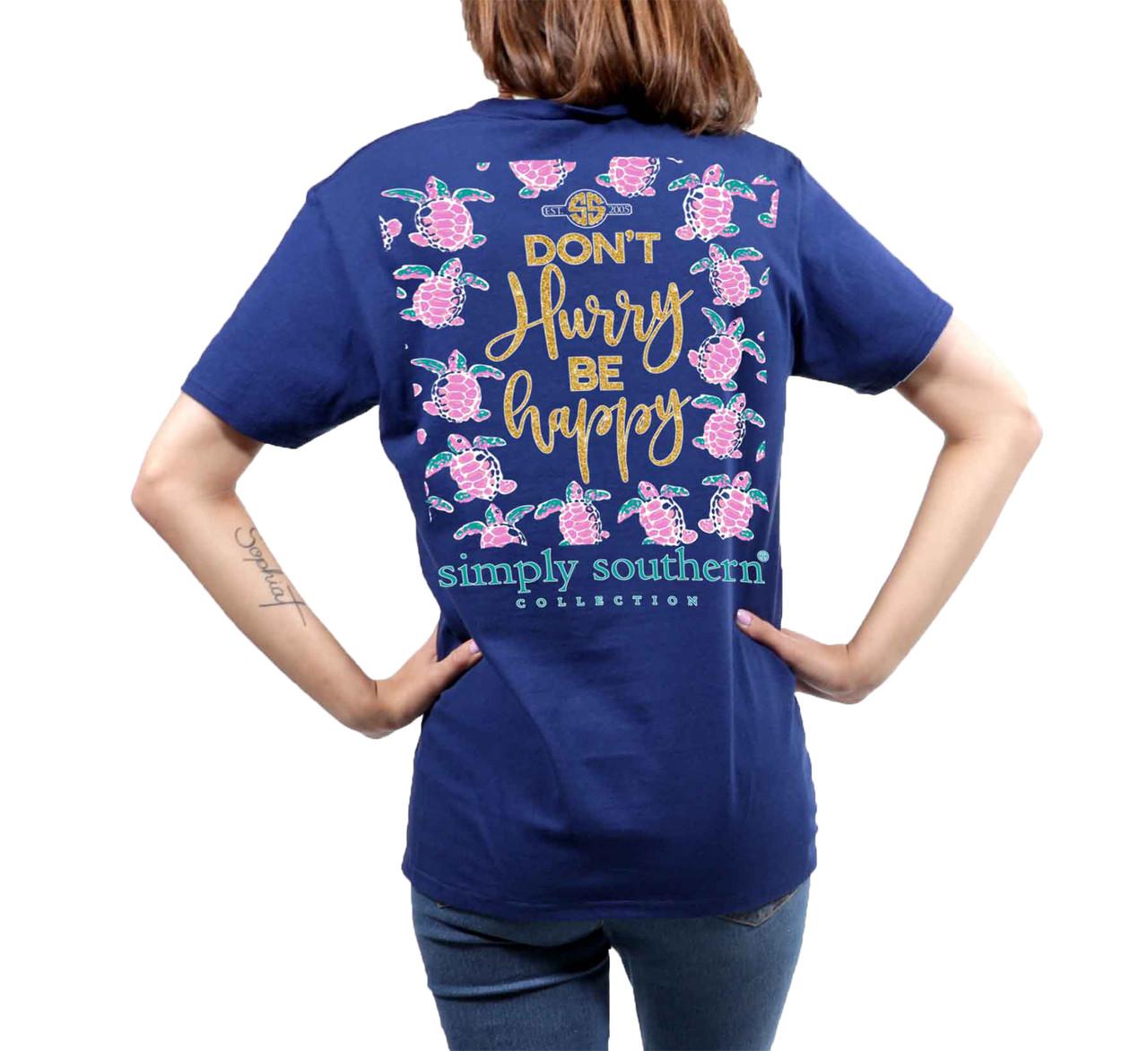 c6db299c0b53 Simply Southern Youth Don't Hurry Short Sleeve Pocket T-shirt - Trenz Shirt  Company