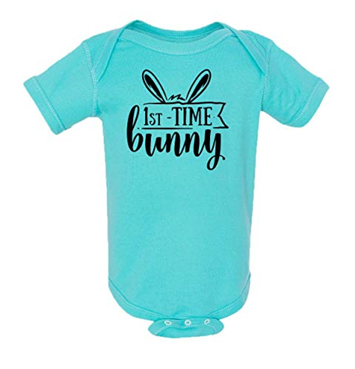 ef340515d Easter 1st Time Bunny Infant Baby Onesie - Trenz Shirt Company
