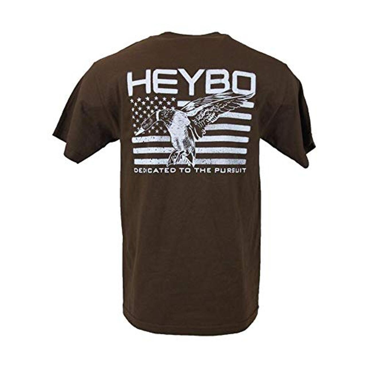 74c33314 Heybo Outdoors Mallard Flag Youth Short Sleeve T-shirt - Trenz Shirt ...