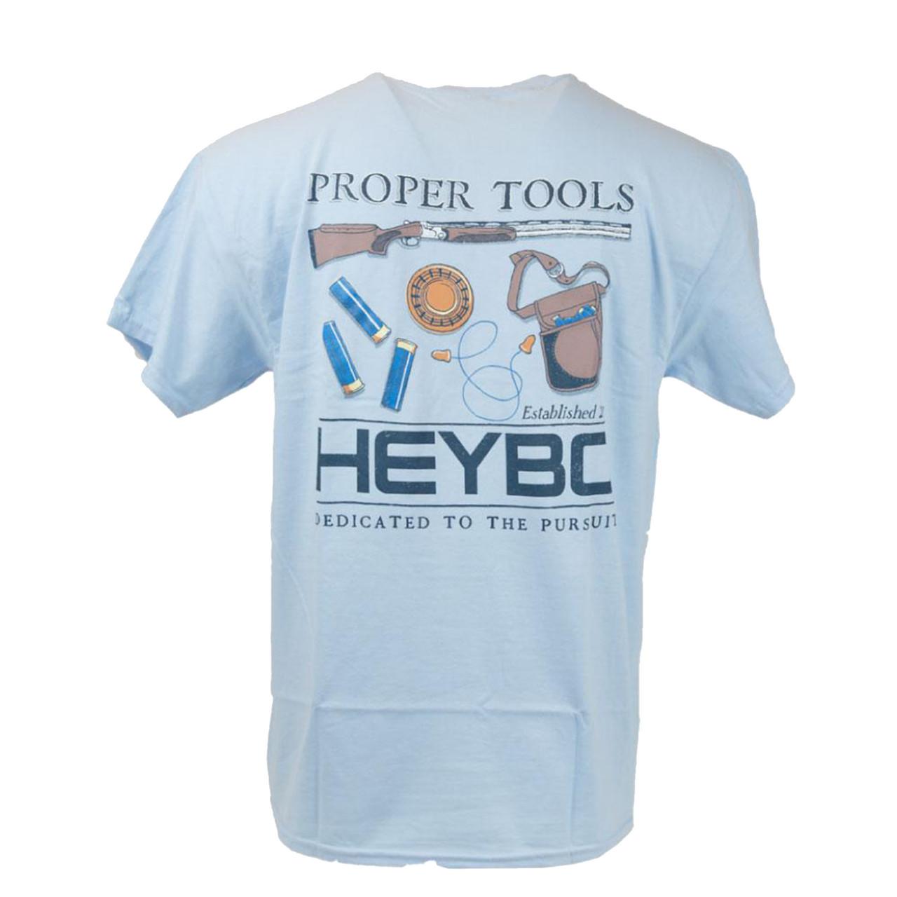 7b94eaa3f Heybo Outdoors Proper Tools Youth Short Sleeve T-shirt - Trenz Shirt ...