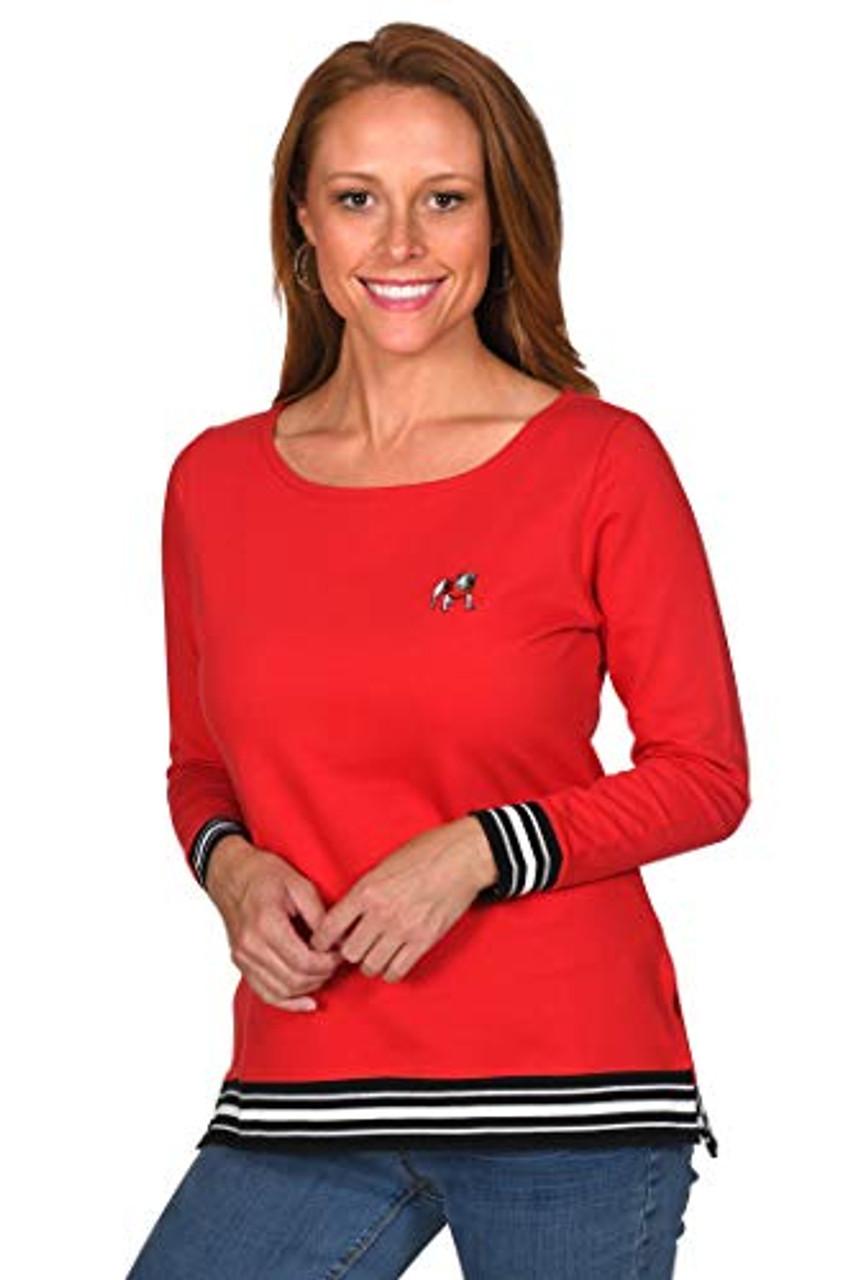 UG Apparel NCAA Womens Ribbed Pullover