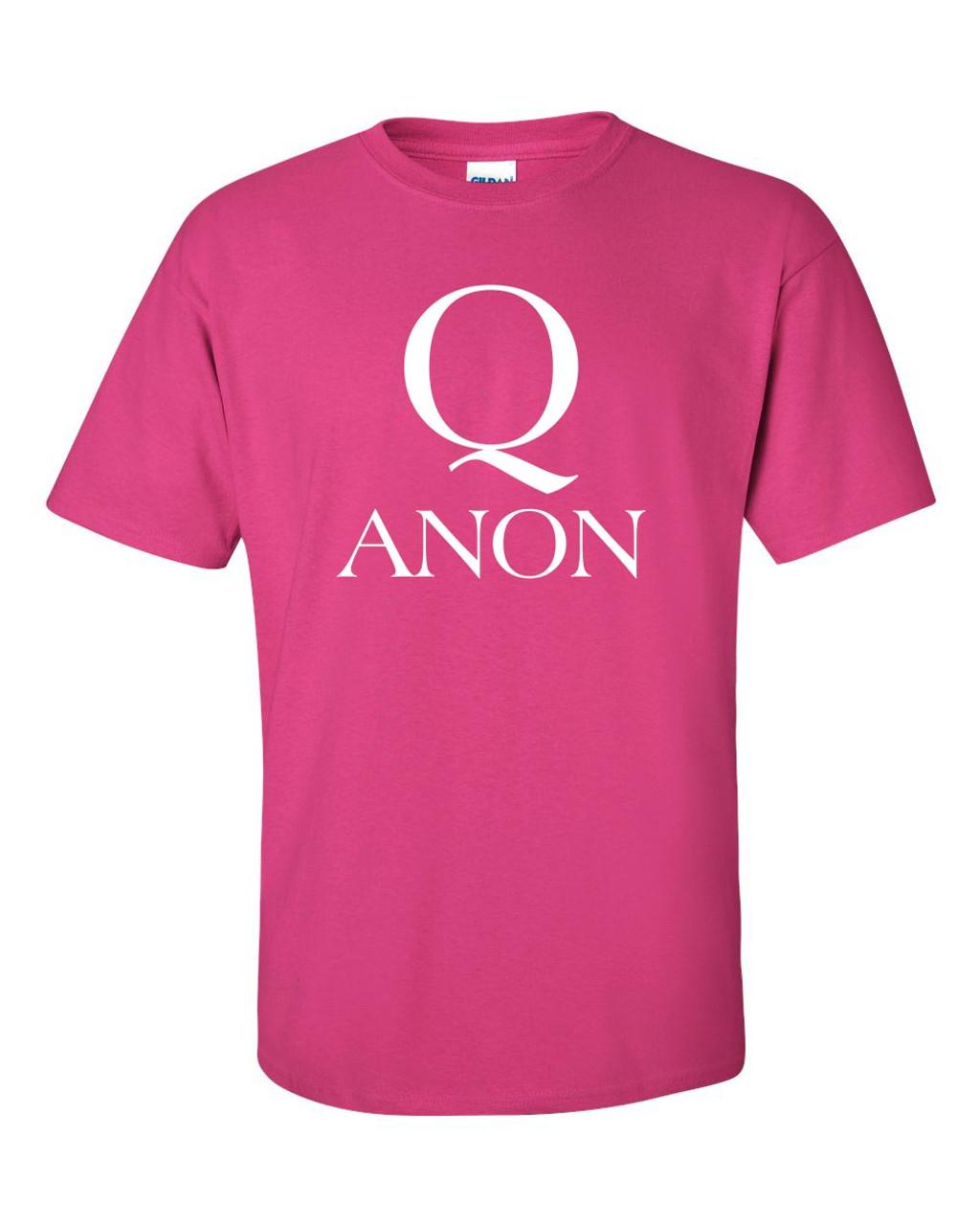 Q WWG1WGA The Great Awakening Women/'s V-Neck T-Shirt Q Anon MAGA Trump Hair