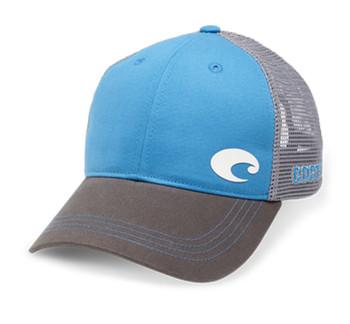 a9262f35e2fab Costa Del Mar Offset Logo XL Fit Trucker Hat