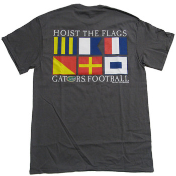 best service d1e82 a71d2 Florida Gators Hoist The Flags T-shirt