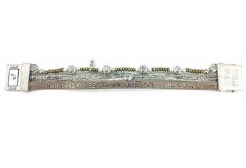 21e1985e704d4 Good Works Jewelry Jana Majestic Scripture Bracelet-Numbers 6 24-26-Bronze