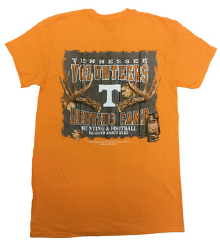 separation shoes 705f9 cd9b4 New World Graphics Tennessee Volunteers Hunting Camp T-shirt