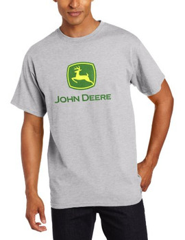 493e13c413b0 John Deere Men s Trademark Logo Core Green Short Sleeve Tee