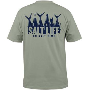 8b635ac18d Salt Life Mens 5 O'Clock Somewhere Short Sleeve Pocket T-shirt