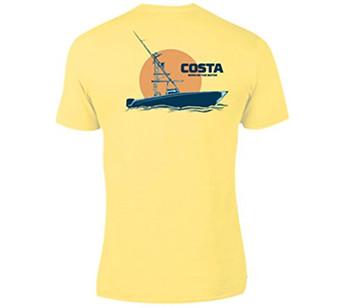 17285b6c Costa Del Mar Men's Fleet Short Sleeve Comfort Colors T-shirt