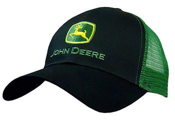 6df5e455ec96d John Deere JD Logo Mesh Cap
