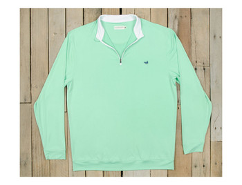 5dad545a1b364 Southern Marsh Half Moon 1 4 Zip Performance Pullover