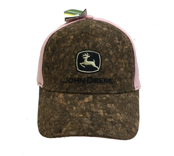 9d1c0755c59 John Deere Womens Camo and Mesh with Suede Patch Hat - Trenz Shirt ...