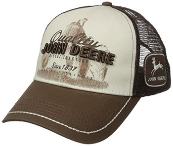 895a572733006 John Deere Quality Diesel Tractors Mesh Back Cap