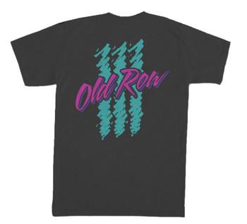 9441756f Old Row 90s Lager Retro Logo Short Sleeve Comfort Color Pocket T-shirt