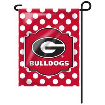 NCAA Georgia Bulldogs Growth Chart Banner Black
