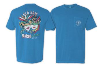 c600f4cd Old Row Mardi Gras Comfort Colors Pocket T-shirt