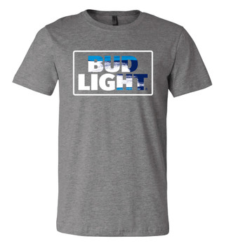 85422410ff Brew City Beer Gear Bud Light Racetrack Logo Short Sleeve T-shirt