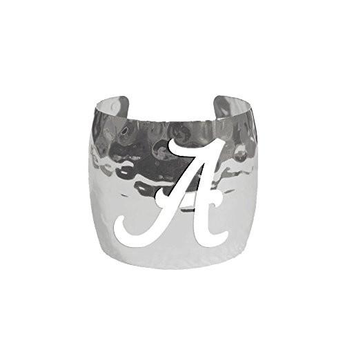 Emerson Street Alabama Silver Cut Out Cuff