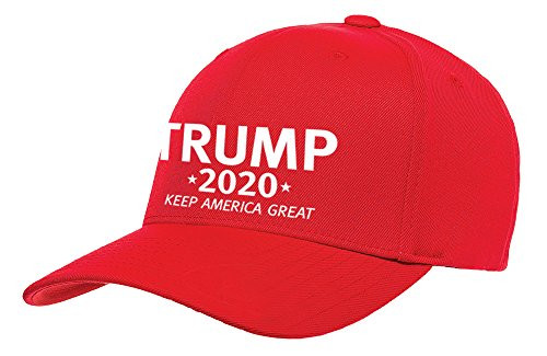 Political Trump 2020 Keep America Great Embroidered Baseball Hat Red