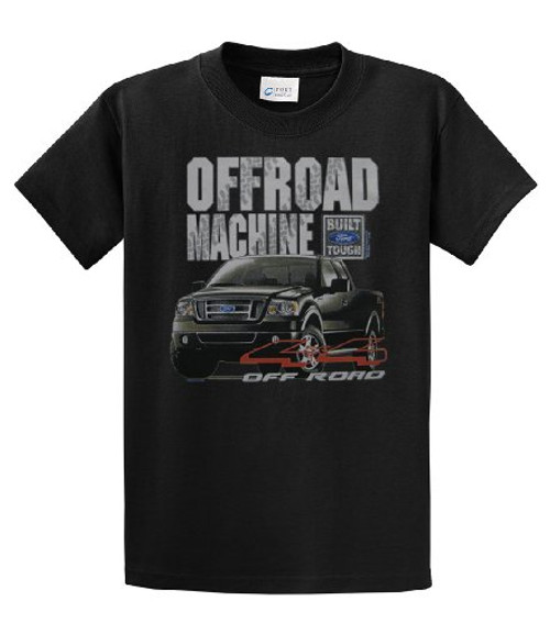 Ford Offroad Truck T-shirt Off Road Mudding 4 Wheeling 4X4 Pickup Car Performance Authentic Motor Company