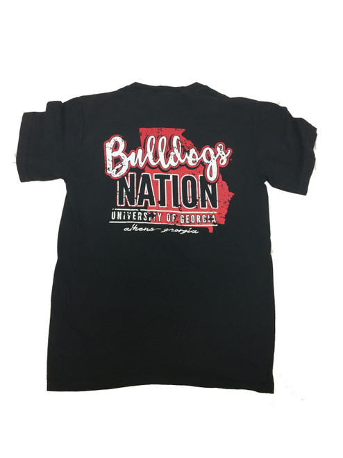 Georgia Bulldogs Bulldog Nation Comfort Color Tee Shirt