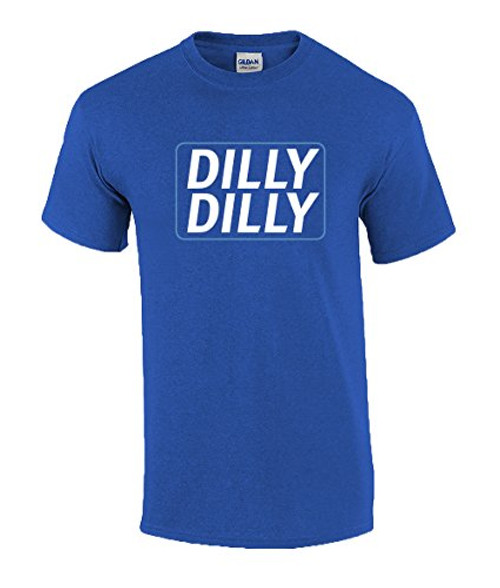 Funny Beer Drinking Dilly Dilly Adult Short Sleeve Tee Shirt