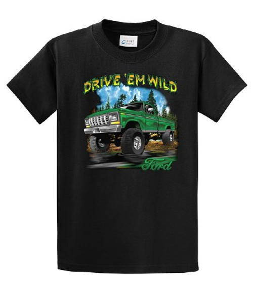 Ford Truck 4x4 Drive 'Em Wild Ford Motor Company Pickup Pick up Wheel Drive Mudding Outdoors Hunting