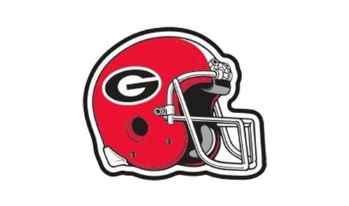 Craftique University of Georgia Bulldogs Helmet Hitch Cover