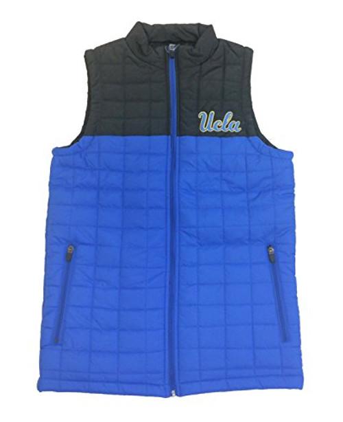 Colosseum UCLA Bruins Mens Amplitude Quilted Puff Vest true blue