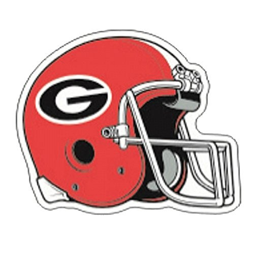 Craftique Georgia Bulldogs Helmet Decal 12In
